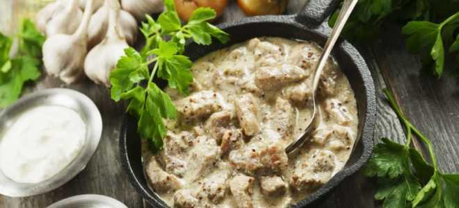 Курица в грибном соусе – пошаговый рецепт с фото. Как приготовить