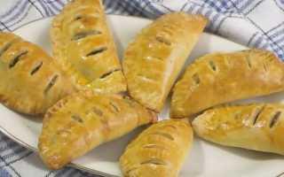 Пирожки с грибами – пошаговый рецепт с фото. Как приготовить