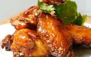 Крылья куриные запеченные – пошаговый рецепт с фото – для духовки