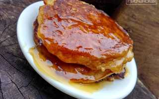 Блинчики с яблочным припёком и кленовым сиропом – пошаговый рецепт с фото. Как приготовить