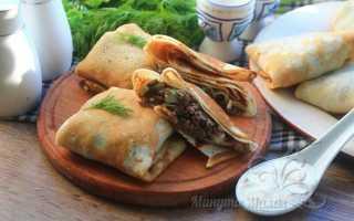 Блинчики с ливером – пошаговый рецепт с фото. Как приготовить
