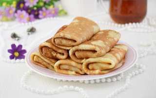 Блинчики с бананово-медовой начинкой – пошаговый рецепт с фото. Как приготовить