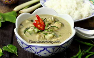 Зеленый карри из курицы – пошаговый рецепт с фото. Как приготовить