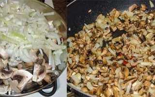 Блинчики с грибами и яйцом – пошаговый рецепт с фото. Как приготовить