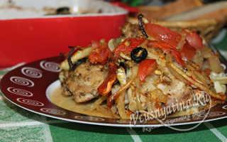 Куриные бедрышки с зелеными оливками – пошаговый рецепт с фото. Как приготовить