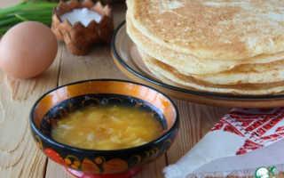 Блинчики по деревенски! – пошаговый рецепт с фото. Как приготовить