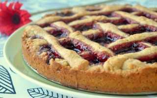 Пирог из варенья – пошаговый рецепт с фото – для духовки