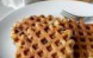 Арахисовые вафли с шоколадной крошкой – пошаговый рецепт с фото. Как приготовить
