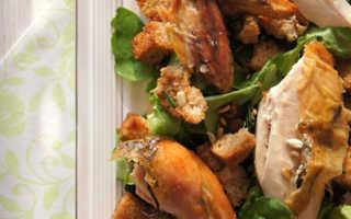 """Запечённая курица в стиле """"Zuni Cafe"""" – пошаговый рецепт с фото – для духовки"""