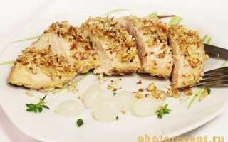 Курица в миндальной корочке – пошаговый рецепт с фото. Как приготовить