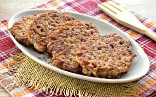 Мясные оладьи с гречневой крупой – пошаговый рецепт с фото. Как приготовить