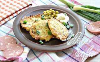 Оладьи из кабачков с колбасой – пошаговый рецепт с фото. Как приготовить