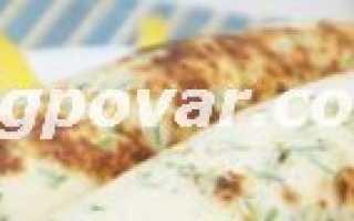 Блинчики с овощной начинкой – пошаговый рецепт с фото. Как приготовить
