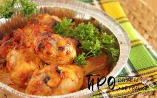 Куриная голень в маринаде – пошаговый рецепт с фото. Как приготовить