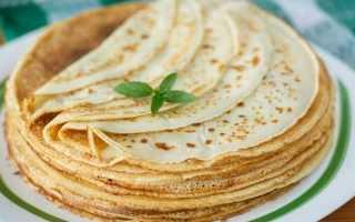 Рисовые блины – пошаговый рецепт с фото. Как приготовить