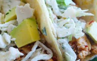 Куриные тако с капустой – пошаговый рецепт с фото. Как приготовить