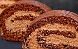 Пекановый рулет с шоколадной начинкой – пошаговый рецепт с фото. Как приготовить