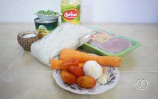 Курица с овощами и рисом – пошаговый рецепт с фото. Как приготовить