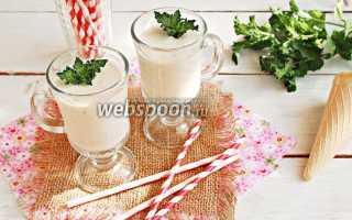 Милкшейк с мятой и нектарином – пошаговый рецепт с фото. Как приготовить