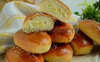 Пирожки с рисом и яйцом (на песочном тесте) – пошаговый рецепт с фото. Как приготовить