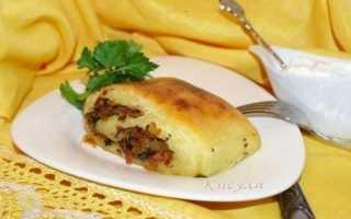 Картофельный рулет со шкварками – пошаговый рецепт с фото – для духовки
