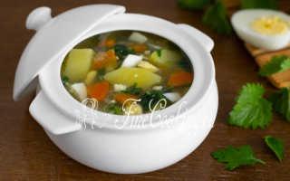 Крапивный суп с яйцом – пошаговый рецепт с фото. Как приготовить