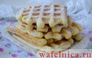 Клубничные вафли на завтрак – пошаговый рецепт с фото. Как приготовить