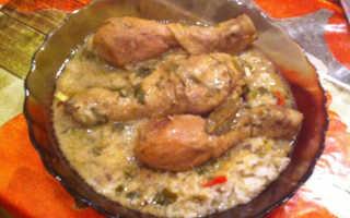 Курица по-кабардински – пошаговый рецепт с фото. Как приготовить