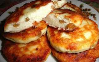 Сырники с изюмом в духовке – пошаговый рецепт с фото – для духовки