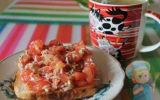 Брускетта с помидорами и сыром – пошаговый рецепт с фото. Как приготовить