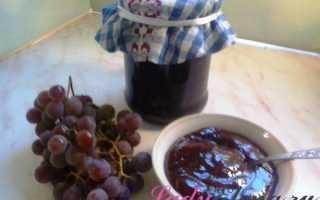 Виноградное варенье на зиму – пошаговый рецепт с фото. Как приготовить