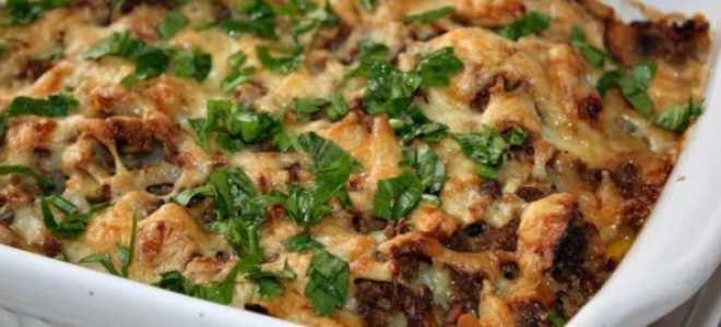Картофельная запеканка с фаршем и грибами – пошаговый рецепт с фото. Как приготовить