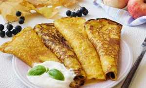 Тыквенные блинчики – пошаговый рецепт с фото. Как приготовить