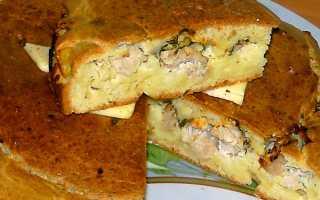 Заливной пирог с индейкой и картофелем – пошаговый рецепт с фото. Как приготовить