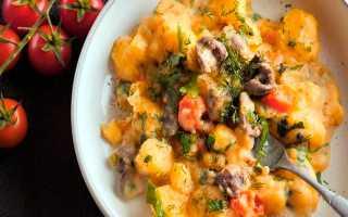 Картошка с сердечками куриными – пошаговый рецепт с фото. Как приготовить