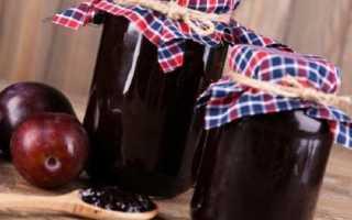 """Варенье """"Шоколадная слива"""" – пошаговый рецепт с фото. Как приготовить"""