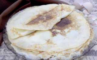 Ванильные блины – пошаговый рецепт с фото. Как приготовить
