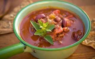 Суп чили – пошаговый рецепт с фото. Как приготовить