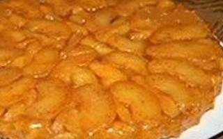 Банановый тарт Татэн (перевернутый пирог) – пошаговый рецепт с фото. Как приготовить