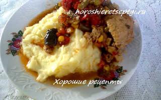 Курица с овощами – пошаговый рецепт с фото – для мультиварки