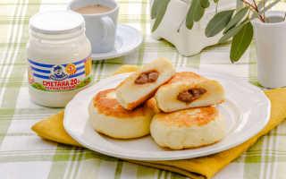 Сырники с начинкой из вареной сгущенки – пошаговый рецепт с фото. Как приготовить