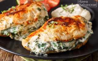 Фаршированные куриные грудки – пошаговый рецепт с фото. Как приготовить