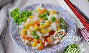 Ризотто с горошком и кукурузой – пошаговый рецепт с фото. Как приготовить