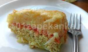 Запеканка из картофеля с сыром – пошаговый рецепт с фото. Как приготовить