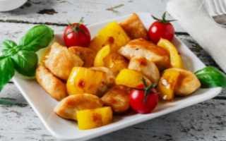 Куриные грудки с болгарским перцем – пошаговый рецепт с фото. Как приготовить