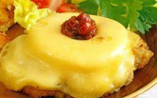 Куриные отбивные с ананасом под сырной шубкой – пошаговый рецепт с фото. Как приготовить