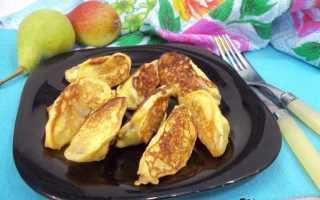Пышные оладушки с грушей – пошаговый рецепт с фото. Как приготовить