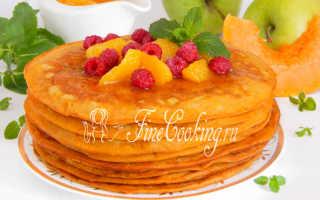 Тыквенно-яблочные блины – пошаговый рецепт с фото. Как приготовить
