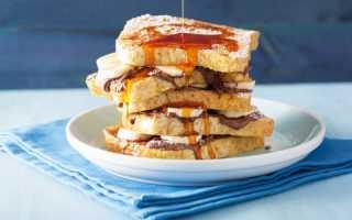 Французские тосты с апельсиновым сиропом – пошаговый рецепт с фото. Как приготовить