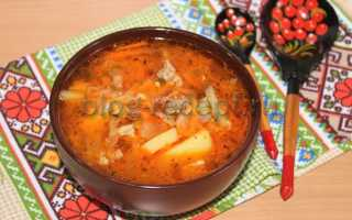 Томатный суп с капустой и мясом – пошаговый рецепт с фото. Как приготовить